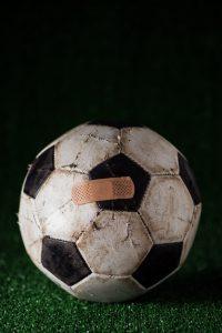 Fixed football match concept